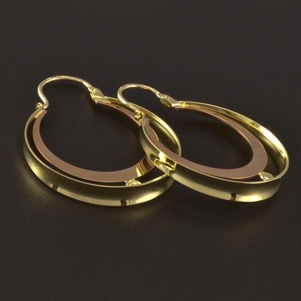 E-shop zlaté šperky  zlaté náušnice 14a73a47d21