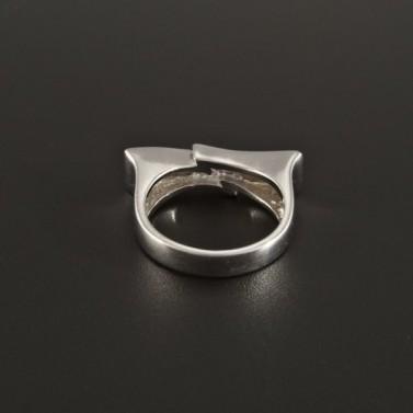 Originální stříbrný prsten s perletí 178 č.2