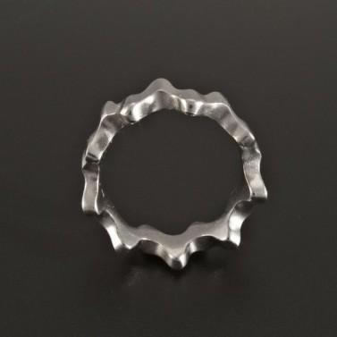 Stříbrný prsten originálního tvaru 219 č.3