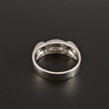 Stříbrný prsten originální tvarová úprava 251 č.3