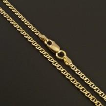Zlatý jemný řetízek typ fantazie 314
