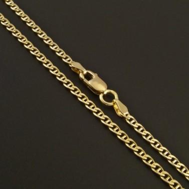 Zlatý jemný řetízek typ fantazie 314 č.1