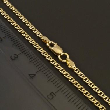 Zlatý jemný řetízek typ fantazie 314 č.2