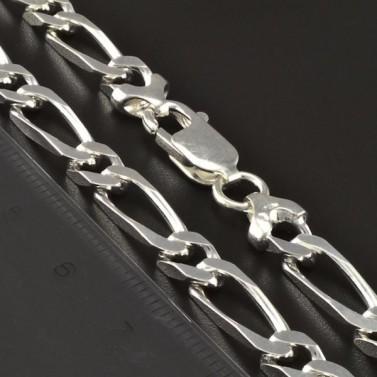 Masivní řetízek stříbrný s velkými oky 462 č.2