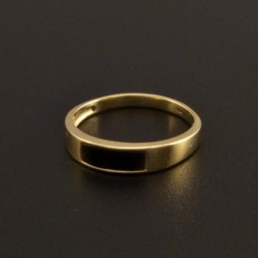 Zlatý prsten s karneolem 787 č.1