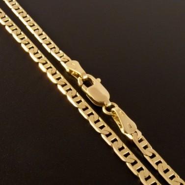 Zlatý náramek uzávěr karabinový 828 č.3