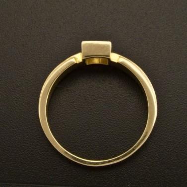 Zásnubní prsten zirkon čtvercový brus 920 č.3