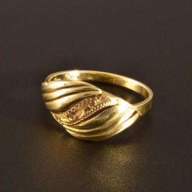 Nápadný zlatý prsten 1394 č.1