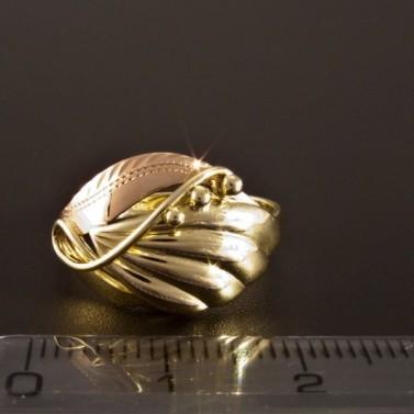 Zlatý prsten ručně montovaný 1422 č.2