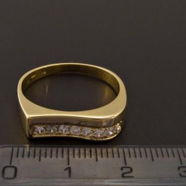 Elegantní zlatý prsten 2161 č.2