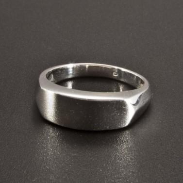 Jednoduchý masivní stříbrný prsten 2244 č.1