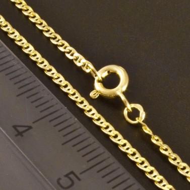 Zlatý náramek s pérovým uzávěrem 2423 č.3