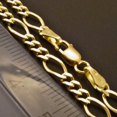 Zlatý masivní žlutý náramek 2427 č.3