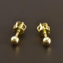 Zlaté pecky kuličky 2462
