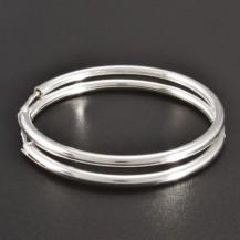 Hladké stříbrné kruhy průměr 2574