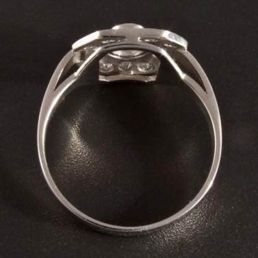 Prsten s brilianty z bílého zlata 2725 č.3