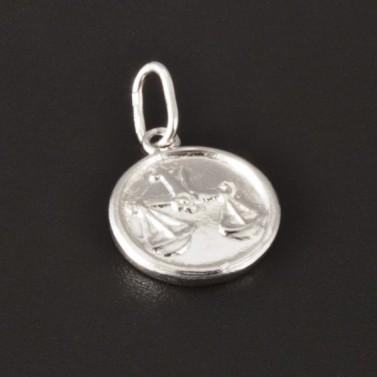 Kulaté stříbrné znamení váhy 2785 č.1