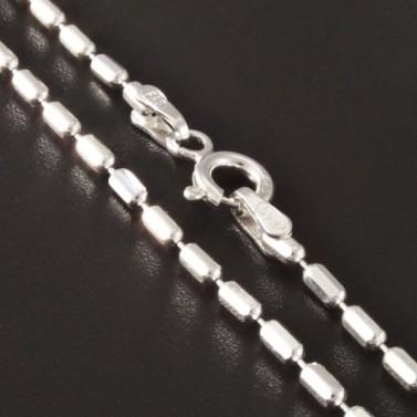 Jednoduchý elegantní řetízek stříbro 2805 č.1