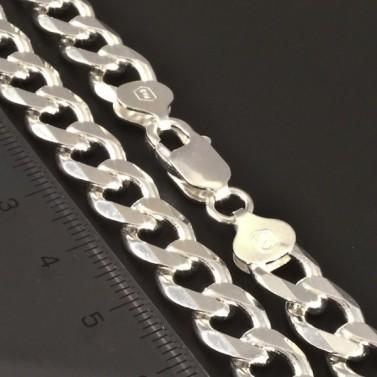 Velmi pevný masivní řetízek stříbrný 3072 č.2