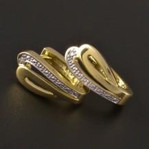 Zlaté náušnice masivní 3206
