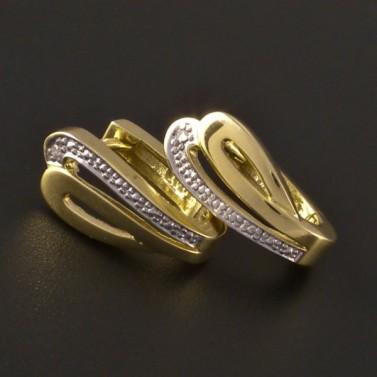 Zlaté náušnice masivní 3206 č.1