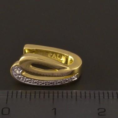 Zlaté náušnice masivní 3206 č.2