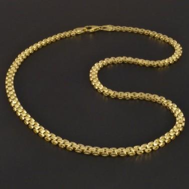 Zlatý článkový masivní náhrdelník 3359 č.1