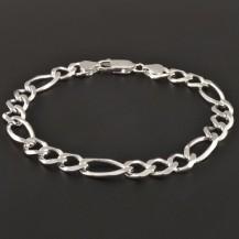 Stříbrný náramek pánský 3381