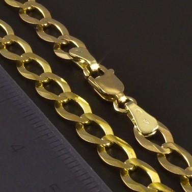 Zlatý náramek žluté lesklé provedení 3431 č.3