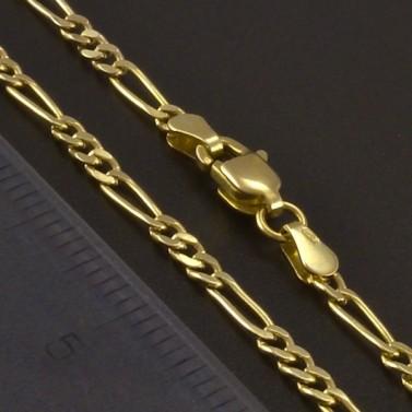 Jednoduchý dětský zlatý řetízek 3468 č.2