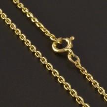 Jemný řetízek zlato 3476