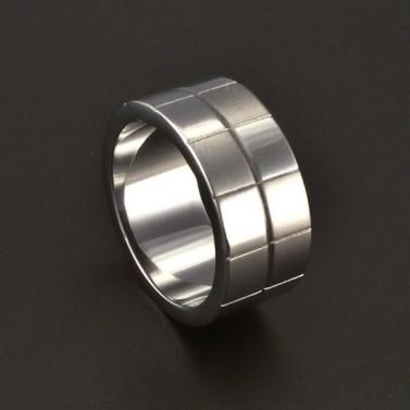 Prsten ocelový provedení lesk a mat 3709 č.1