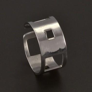 Prořezávaný prsten chirurgická ocel 3716 č.1