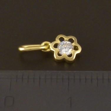 Zlatý přívěšek dětský květ 3747 č.2