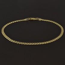 Zlatý masivní náramek šířka 4182
