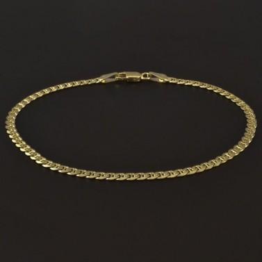 Zlatý masivní náramek šířka 4182 č.1