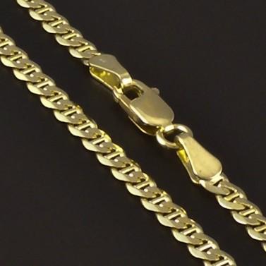 Zlatý masivní náramek šířka 4182 č.2