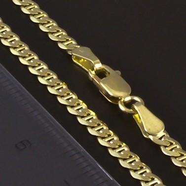 Zlatý masivní náramek šířka 4182 č.3