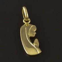 Zlatý přívěsek tvar madonka 4219