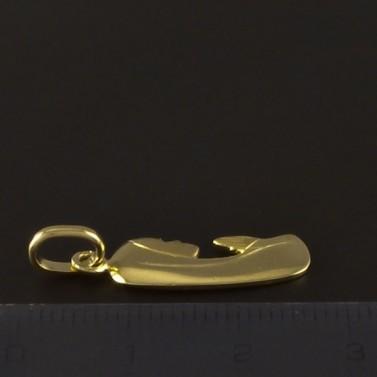 Zlatý přívěsek tvar madonka 4219 č.3