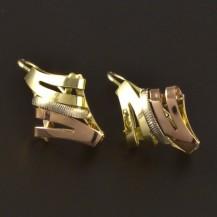 Montované zlaté náušnice 4229