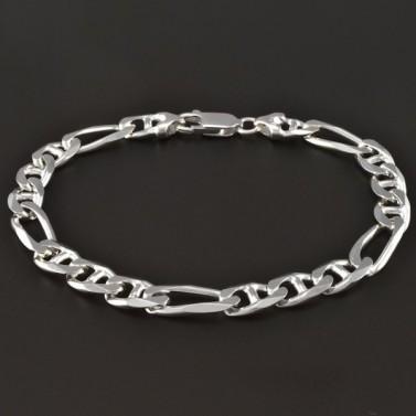 Masivní náramek stříbro 4257 č.1