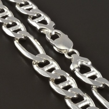 Masivní stříbrný pevný řetízek 4267 č.1