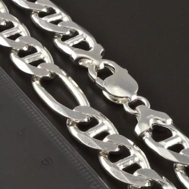 Masivní stříbrný pevný řetízek 4267 č.2