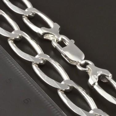 Stříbrný velmi pevný řetízek 4268 č.2