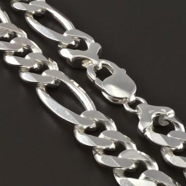 Silný pánský stříbrný řetízek 4269 č.1