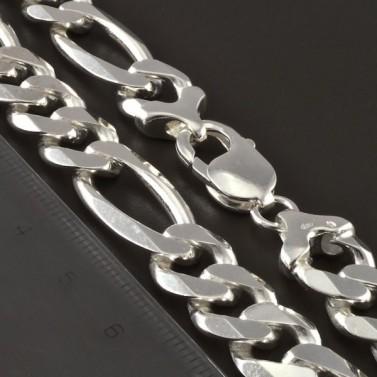 Silný pánský stříbrný řetízek 4269 č.2