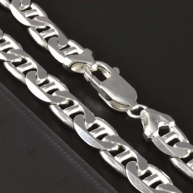 Pevný masivní stříbrný řetízek 4389 č.2