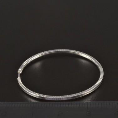 Stříbrné náušnice kruhy průměr 4416 č.2
