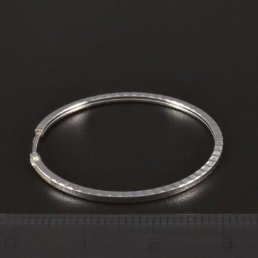 Stříbrné náušnice kruhy průměr 4417 č.2